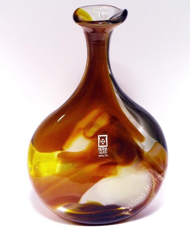 Wazon szklany Mdina Glass Malta PROMOCJA - 47%