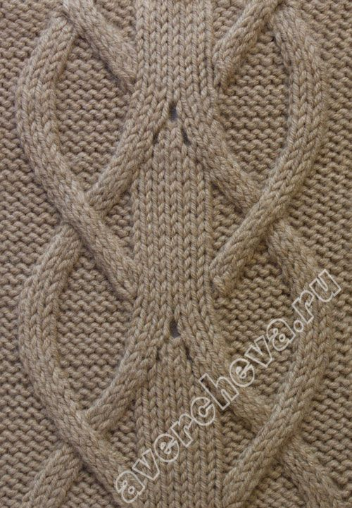 Lovely cable knitting pattern. Page is in Russian - Google translation looks pretty good. #knit #knitstitch #cableknit #knitcable #cablestitch #cables