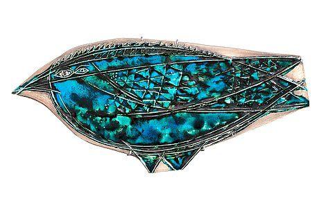 Rut Bryk Bird ceramics 43x19,5cm
