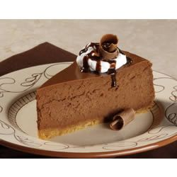 Chocolate Cheesecake Recipe...this was so good. VERY chocolatey and mine looked more swirled. For sure making again!