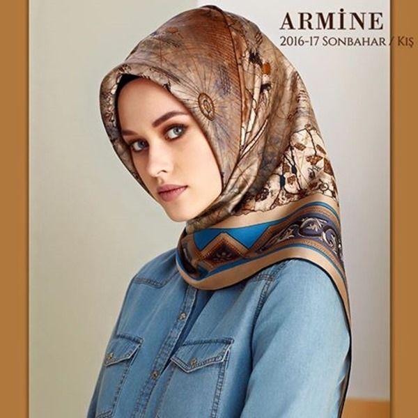Armine 2016-2017 Sonbahar Kış Eşarp Koleksiyonu