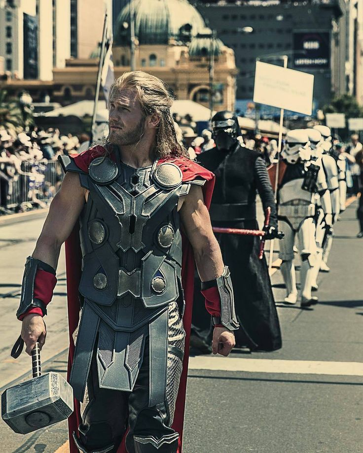 Marvel - Thor Cosplayer: @thorofoz  ________________ #thor #thorofoz…