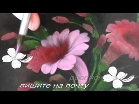 Жостовская роспись. ВЬЮНКИ. kulikova.pro
