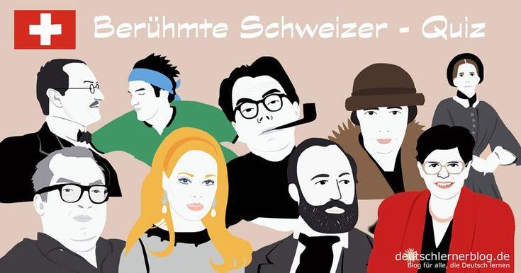 25 große, bekannte, prominente, berühmte Schweizer – Das Quiz