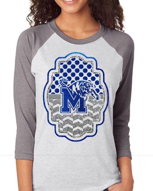 Memphis Tigers Raglan Shirt