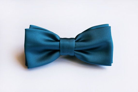 Bow tie for men's petrol blue teal bow, blue navy wedding, bow ties dark teal,red, for ceremony, groom grooms, elegant, bow ties for wedding