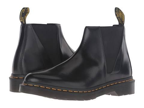 Incaltaminte Femei Dr Martens Bianca Low Shaft Zip Chelsea Black Polished Smooth  N/A #euforiamall     http://ift.tt/2pt6BpE