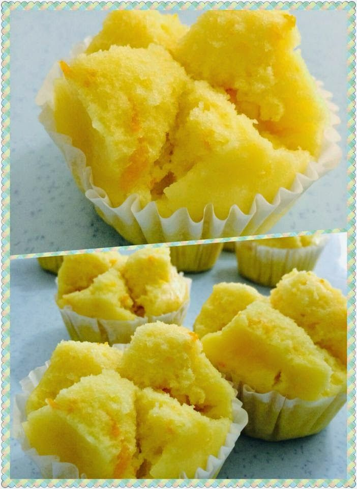 Baking's Corner: Blossom Huat Kueh true colour of sunkist.- By Nanc...
