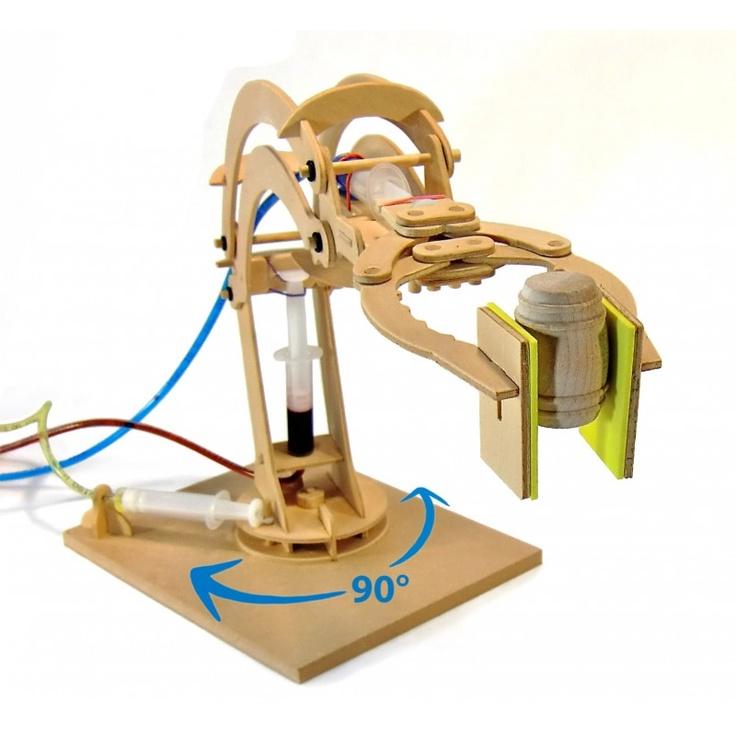 Hydraulic Arm Science Fair Projects : Hydraulic robotic arm fresh new toys pinterest