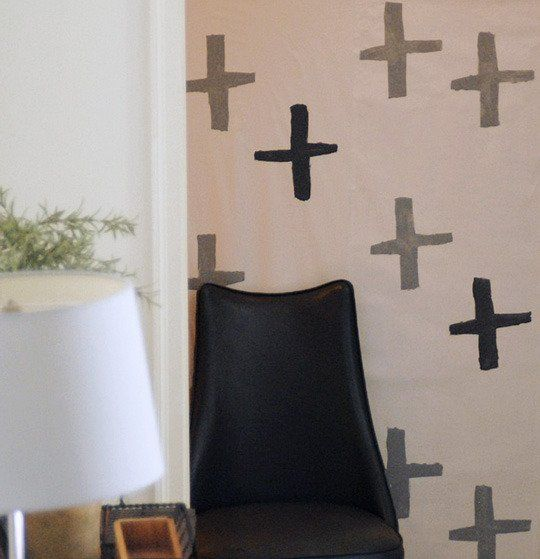 Off the Wall: How To Make Homemade Wallpaper | Apartment Therapy