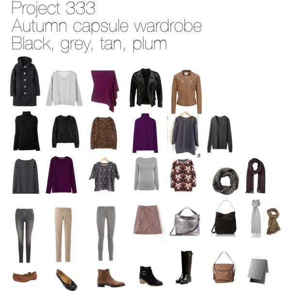 Project 333 autumn capsule wardrobe by lillyicity on Polyvore featuring Uniqlo, Fine Collection, Oasis, H&M, VIPARO, Reiss, Jigsaw, Frame Denim, Rupert Sanderson and Tod's