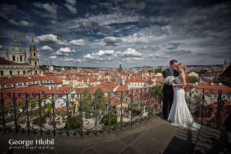 Vrtba garden wedding Prague - Beautiful wedding pictures in Prague