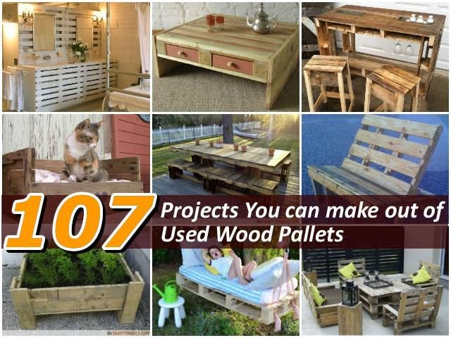 89 best repurpose pallets images on pinterest pallet for How to make stuff out of wooden pallets