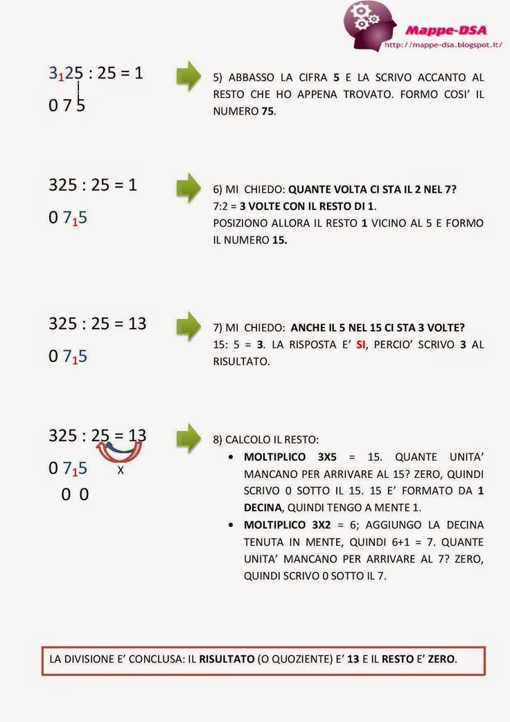 Risolvere una divisione a due cifre: passo dopo passo