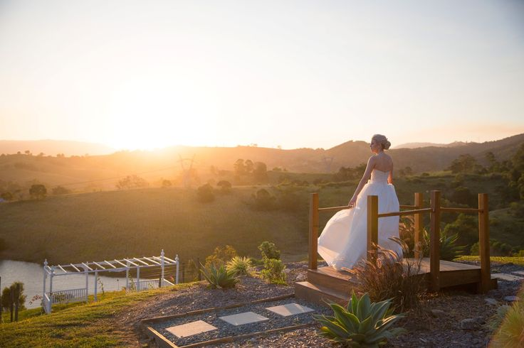 Lovely view over at Glengariff Historic Estate - a multi-award winning wedding venue that is just 45 minutes away from Brisbane CBD. It offers exclusivity like no other!