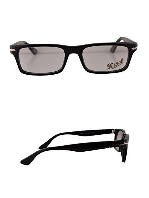 Persol PO3050V Eyeglasses 53-18-140 Black 95 PO3050-V (FRAME ONLY ...