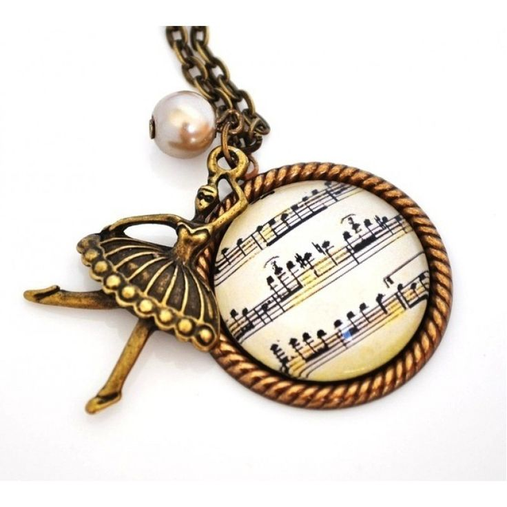 BALE RESİTALİ Vintage Tarzı Bronz Kolye http://ladymirage.com.tr/kolyeler.html/bale-resitali-vintage-tarz%C4%B1-bronz-kolye-9938750.html?limit=100  #balerin #nota #resital #bronz #kolye #vintage #elyapımı
