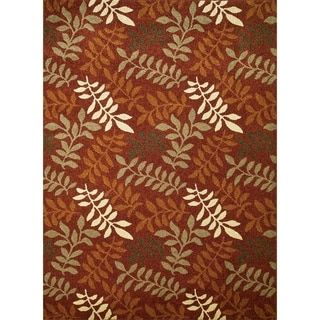 Shop for Chelsea Collection Fern Polypropylene Rug (5'3 x 7'7). Get free shipping at Overstock.com - Your Online Home Decor Outlet Store! Get 5% in rewards with Club O! - 19179298