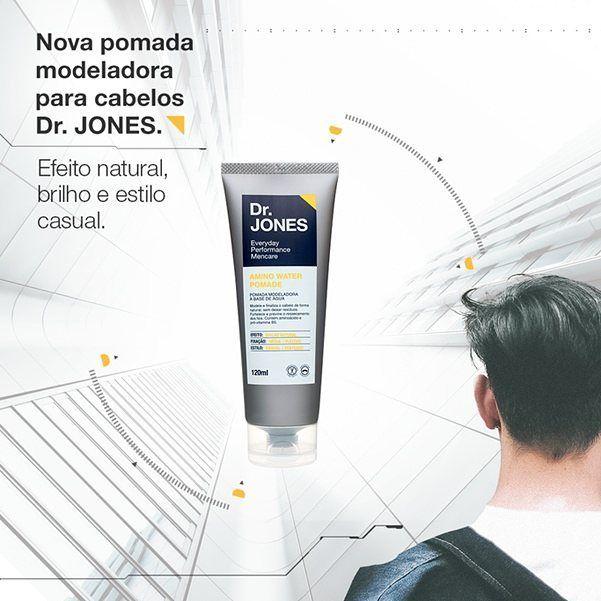 Nova pomada modeladora para cabelos da @drjonesmencare ! Ideal para quem busca um efeito natural com brilho e ainda quer estilizar os fios. Garanta já a sua!  www.mentorio.com.br  #pomadamodeladora #drjones #homem #cuidados