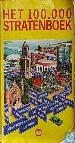 Het Shell stratenboek ! Zo vond je je bestemming in elke Nederlandse stad van enig formaat :)