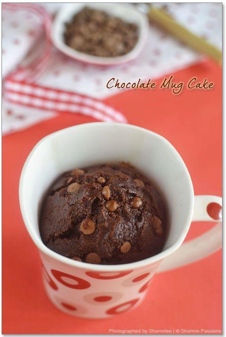2min Eggless Microwave Chocolate Mug Cake Activities ...