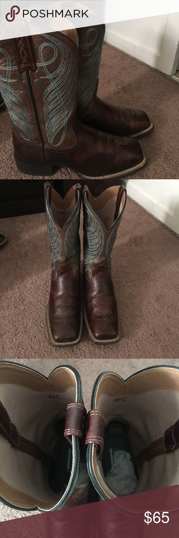 Squared toe Ariat boots Ariat sqared toe boots Ariat Shoes