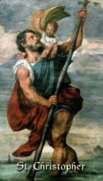 St. Christopher tattoo...I want on my left side(ribs)