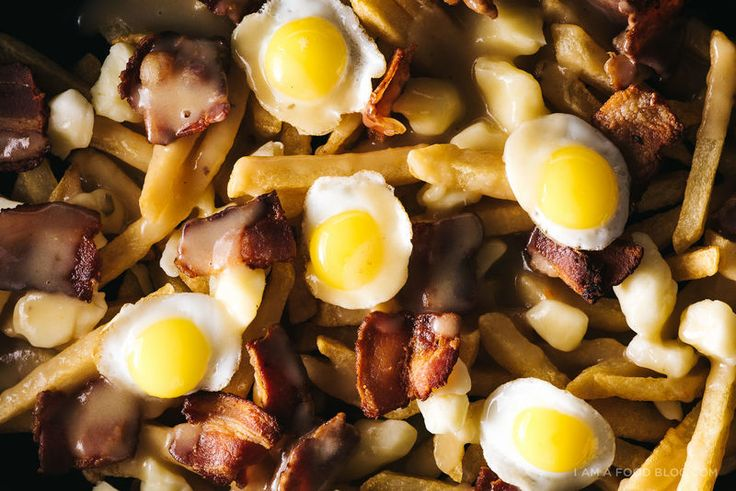 Iamafoodblog's Breakfast Poutine is a Gourmet Take on the Montreal Snack #chicken trendhunter.com