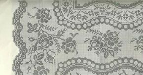 Large tablecloth or blanket with roses