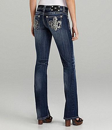 Miss Me Jeans Fleur-de-Lis Bootcut Jeans | Dillards.com: Bootcut Jeans, Jeans Fleurdelis, Jeans Fleur De Lis, Style, Jeans Dillards, Miss Mes, Fleurdelis Bootcut, Miss Me Jeans