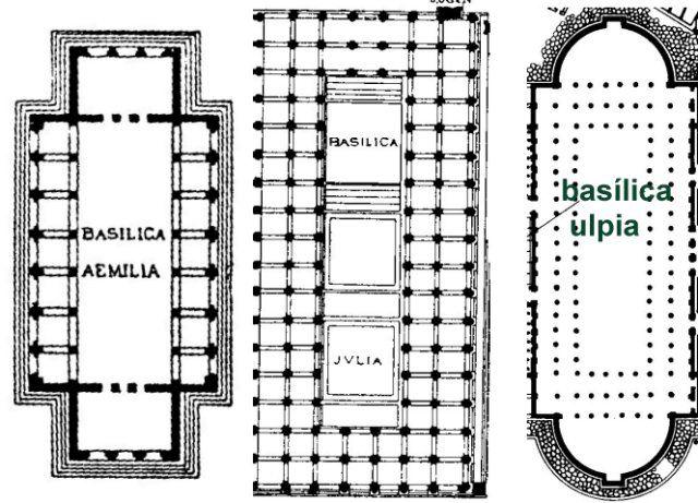 Plany bazylik rzymskich