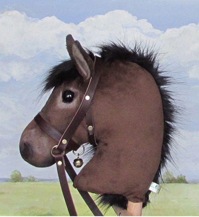 Limited edition Exmoor pony hobby horse.
