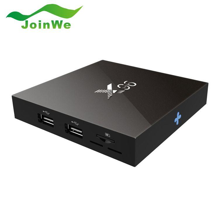 Asli S905X X96 2G 16G Amlogic Quad Core Android 6.0 TV kotak Wifi HDMI Marshmallow 2.0A 4 K * 2 K Kodi Media Player Set top kotak