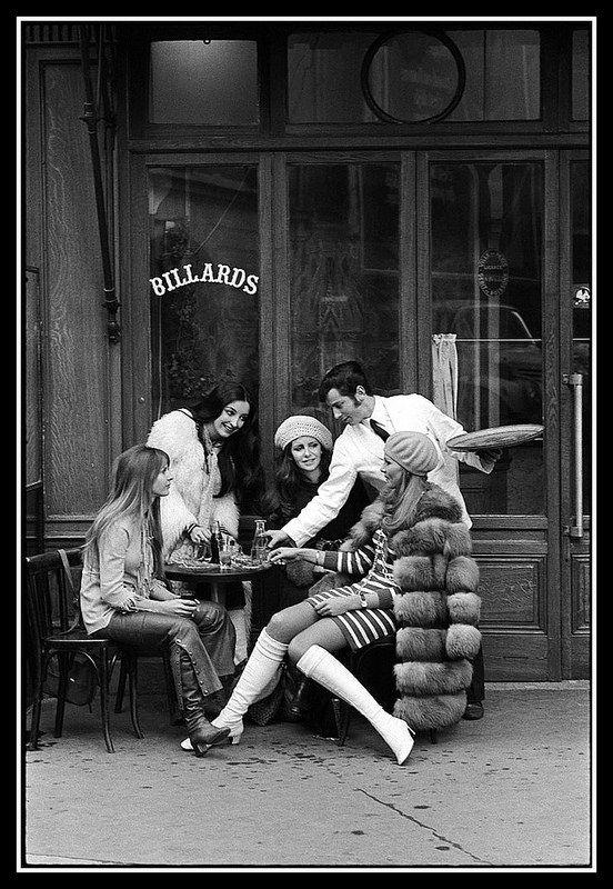 1960s Paris, photo Pierre Boulat, 1968
