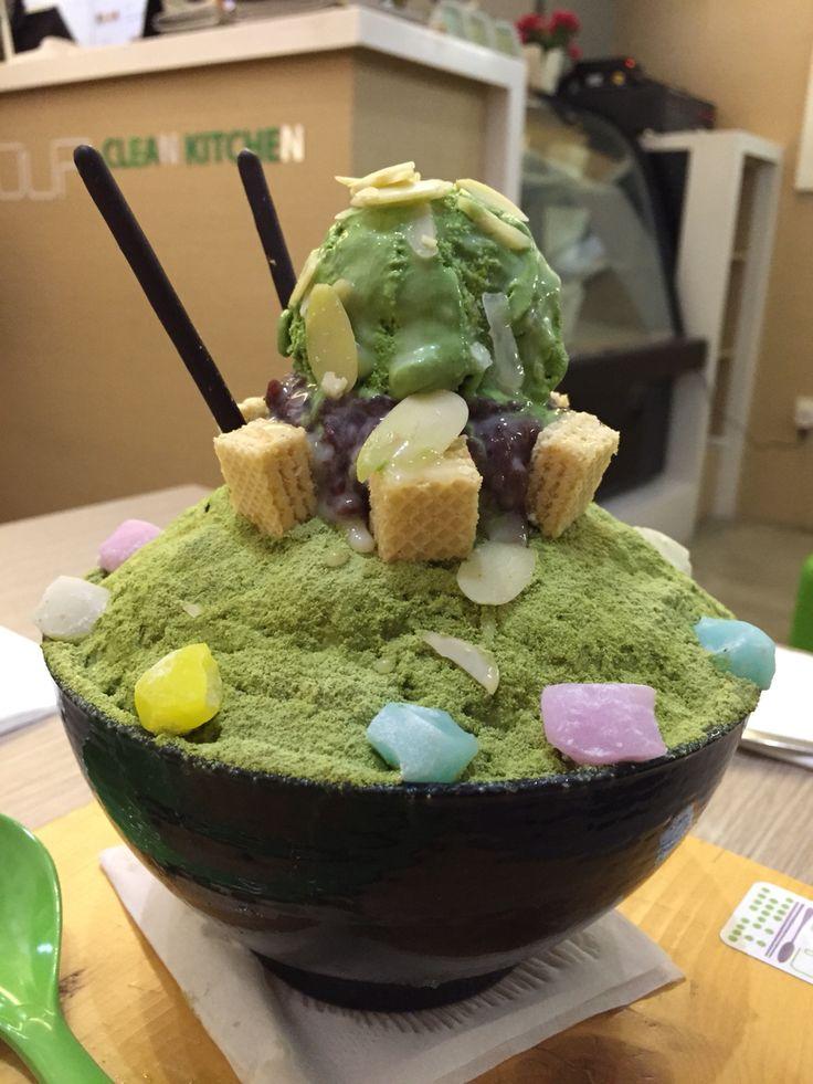 matcha ice cream #dessert#matcha#love#yummy#goodtaste