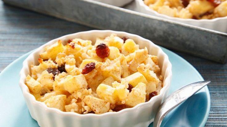 Süß-säuerlicher Genuss: Glutenfreies Crumble mit Apfel   http://eatsmarter.de/rezepte/crumble-mit-apfel-0