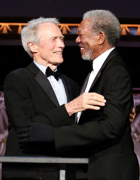 Clint Eastwood & Morgan Freeman both still pretty sexy even at their age.