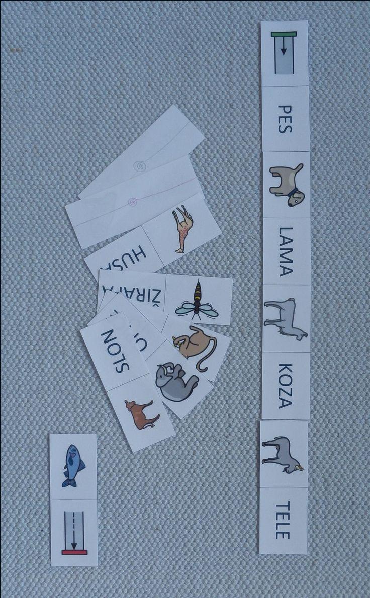 Montessori - český jazyk, materiál ke stažení
