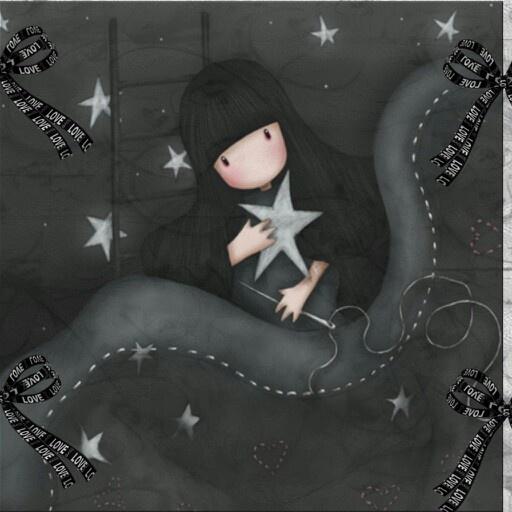 Illustration de Suzanne Woolcot (Gor Juss) artiste écossaise.