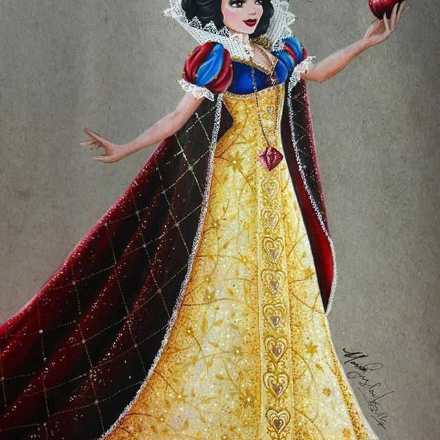 If I could ever own this Limited Edition Snow White.. I couldn't even imagine lol 💸💸💸💸💸 I hope you guys like how she turned out!! I had a wicked fun time with the detail and for all you who asked for a Snow White, and that she is your favorite... I hope the wait was worth it!! 😂😁🤓👍🏼 I have such a fun time drawing these dolls, if you dig it just let me know!!! ❤️ #disney #disneyprincess #disneydolls #snowwhite #fanart #disneyfanart #strathmore #tonedgray #prismacolor…