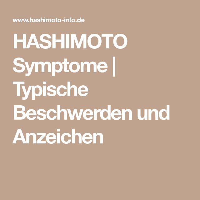HASHIMOTO Symptome | Typische Beschwerden und Anzeichen