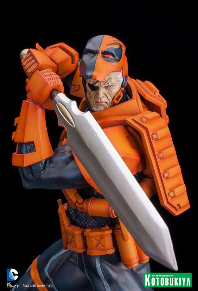 UPDATED: Kotobukiya Announces DC Comics Deathstroke New 52 ARTFX Statue | More Than Just ReviewsMore Than Just Reviews