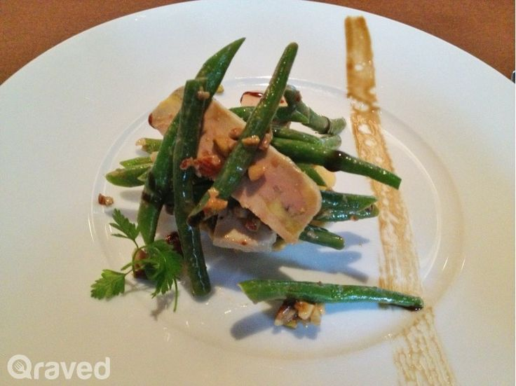 Green Bean Salad at Cassis Restaurant
