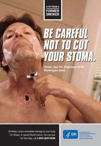 CDC Lauches new graphic anti- smoking campaign.  Lets hope it works!