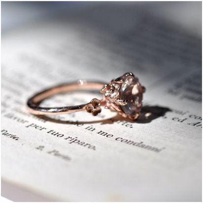 222 Luxury Rose Gold Engagement Ring Vintage For Your Perfect Wedding
