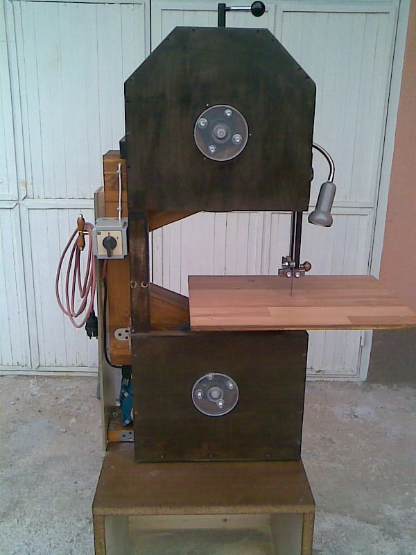 Berislav Bracun S Homemade Bandsaw Motor De Maquina De Lavar Ferramentas Caseiras Ferramentas