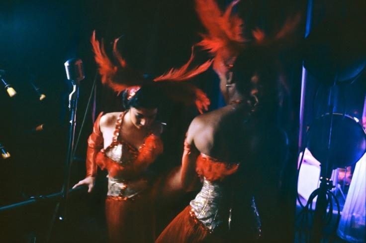 Dancers at The Apollo Theater, Harlem, 1961. Photo by Steve Schapiro