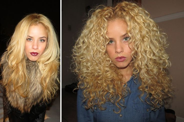 how to get your curls back after straightening