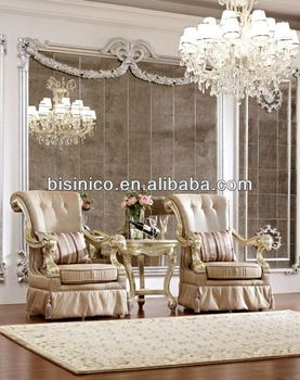New Classical Special Design Living Room Furniture Set - Arm Chair, Small Coffee Table, MOQ:1SET(B21477), View luxury chair and table, BISIN...