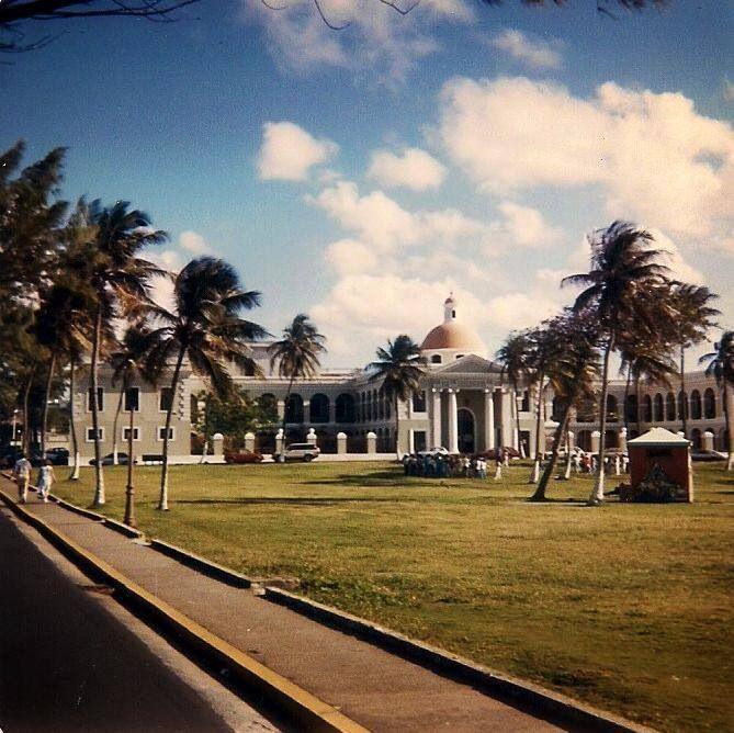 Antiguo Manicómio Insular en San Juan,   Puerto Rico.
